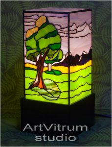 summer stained glass